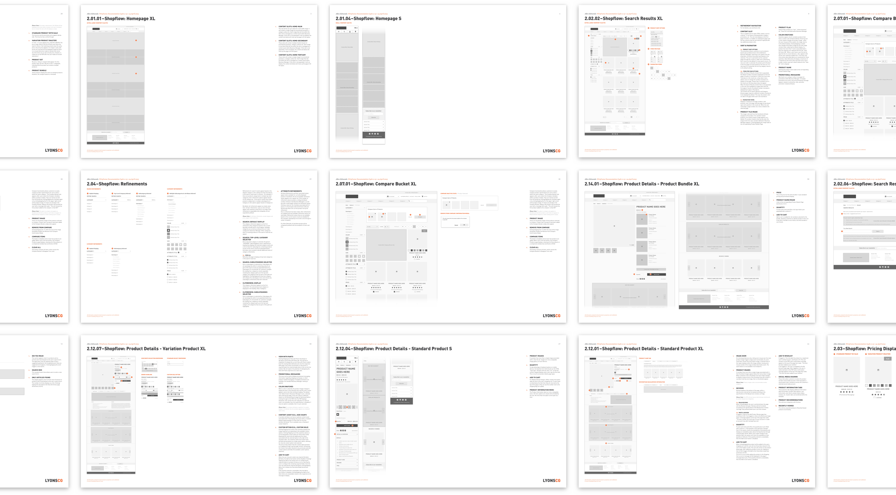 Wireframe-Documentation-Pages